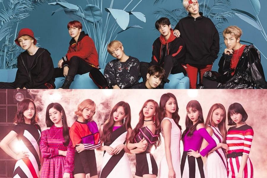 BTS, TWICE y más impresionan en las listas de Oricon para la primera mitad del 2018