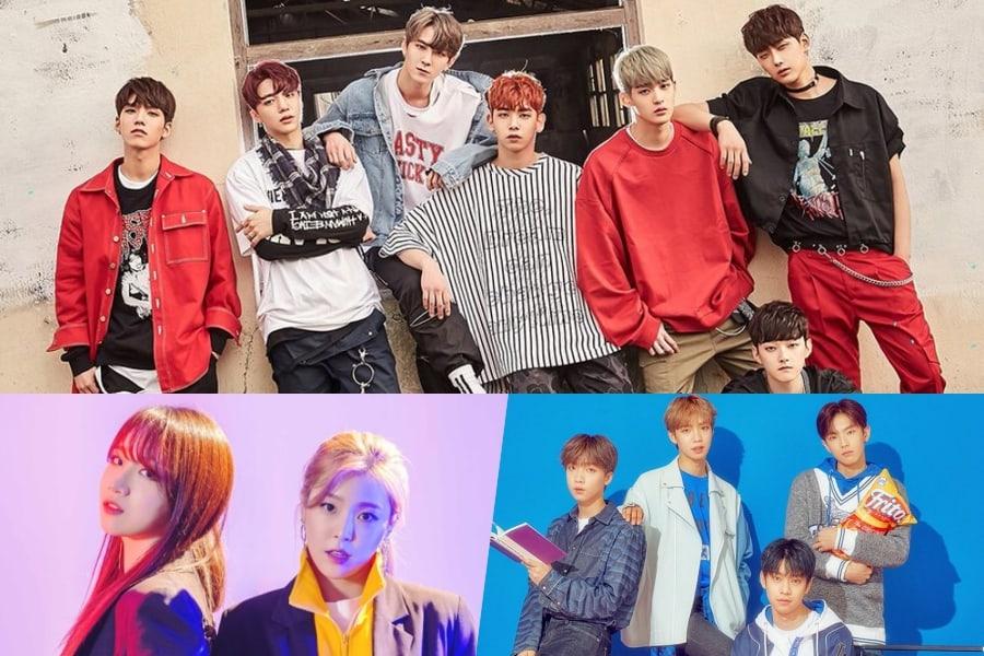 9 grupos de K-Pop subestimados que han debutado en el 2018 hasta el momento