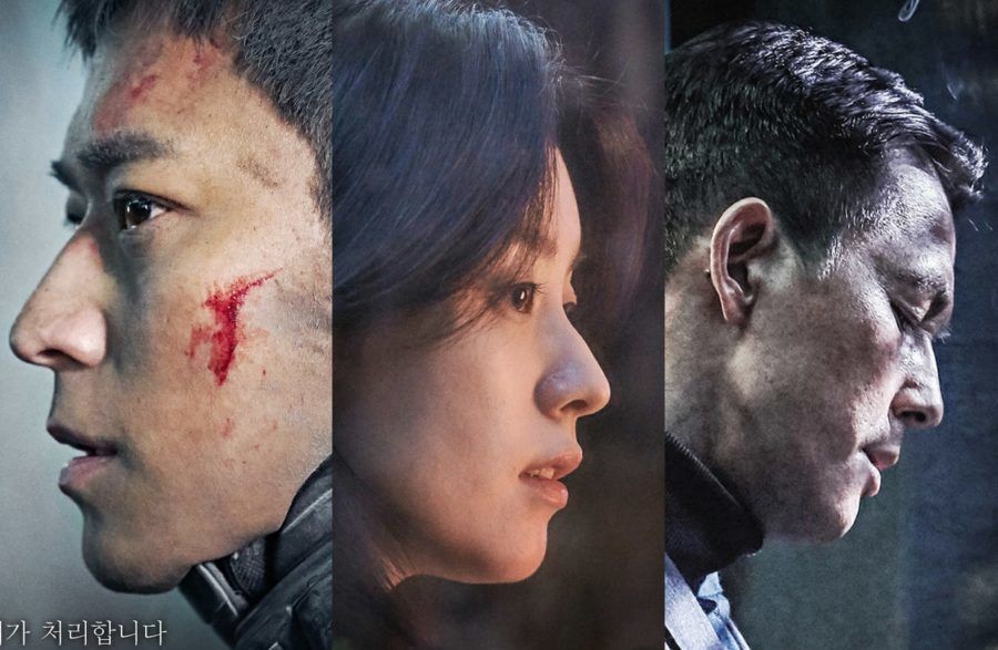 """La nueva película """"Jin-Roh"""" revela intensos carteles de los personajes principales"""