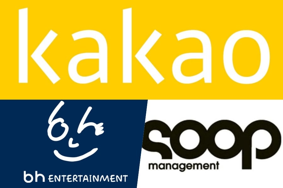 Kakao en conversaciones para adquirir BH Entertainment y Management SOOP