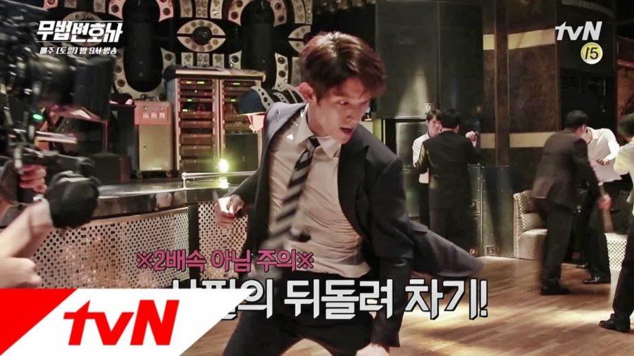 """Lee Joon Gi muestra sus expertas habilidades para las escenas de acción de """"Lawless Lawyer"""""""