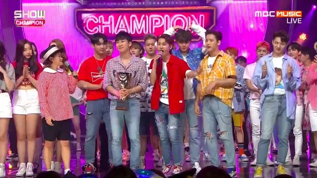 "BTOB logra su 1ª victoria por ""Only One For Me"" en ""Show Champion"". Actuaciones de MOMOLAND, N.Flying y más"