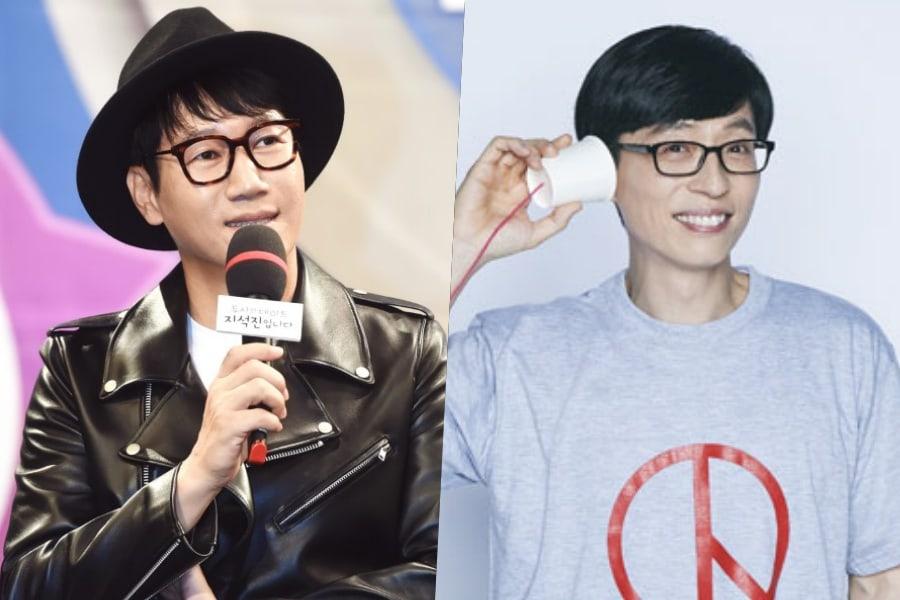 Ji Suk Jin da las gracias a Yoo Jae Suk y a otros por su apoyo tras el fallecimiento de su padre