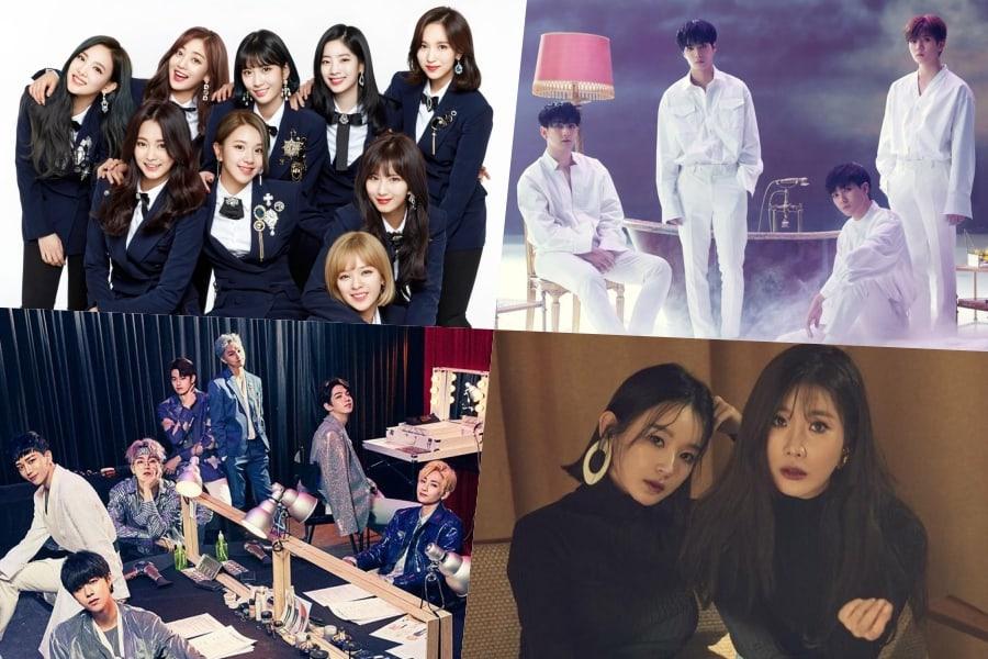 TWICE, NU'EST W, IN2IT y Davichi se unen a la lista de artistas para el KCON 2018 LA
