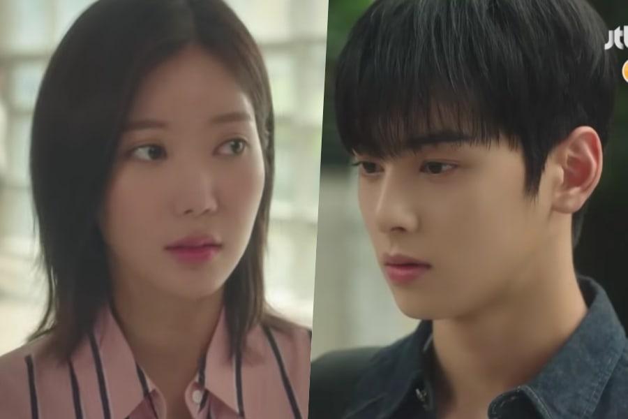 Im Soo Hyang atrapa la atención de Cha Eun Woo de ASTRO en teaser para drama