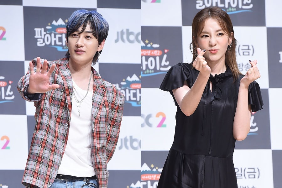 Eunhyuk y Sandara Park pensaban que no podían volverse cercanos porque eran de SM y YG