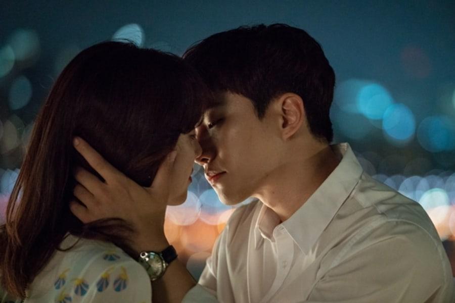 """Junho de 2PM y Jung Ryeo Won ponen los corazones de los espectadores a agitarse con romántico beso en """"Wok Of Love"""""""