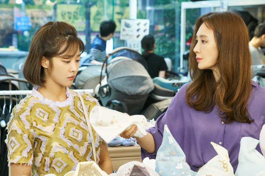 """Jo Bo Ah y Chae Si Ra tienen un interesante día de compras en """"Goodbye To Goodbye"""""""