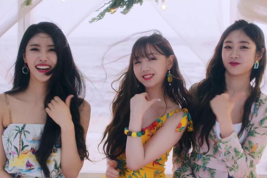 """Lovelyz disfruta del verano en MV para nuevo sencillo """"Wag-Zak"""""""