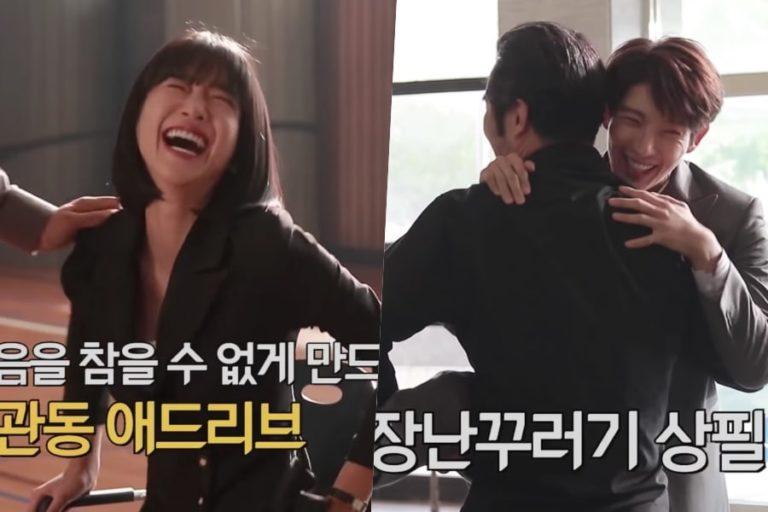 """Seo Ye Ji, Lee Joon Gi y más pasan un buen momento en el vídeo publicado tras las cámaras de """"Lawless Lawyer"""""""