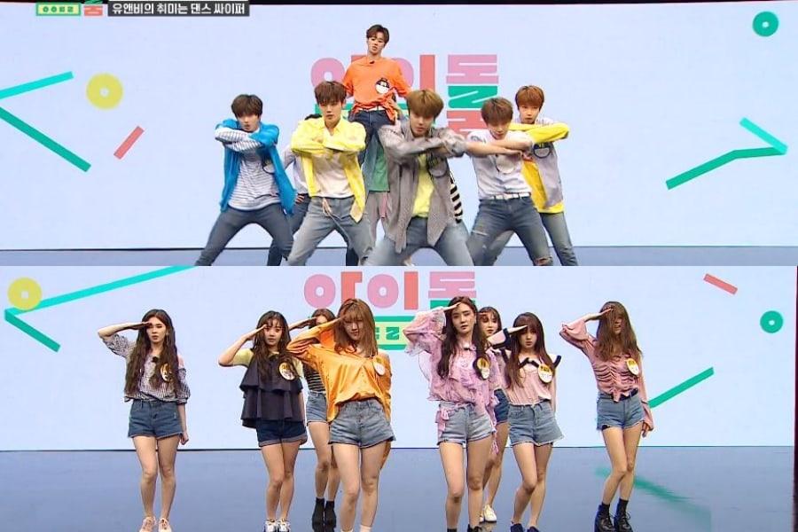 UNB junto a UNI.T llevan a cabo covers de EXO, Beyoncé y más mientras tienen una batalla de baile