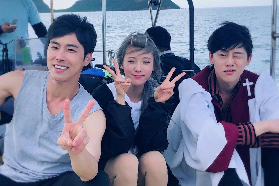 Yunho de TVXQ comparte sabiduría sobre comentarios maliciosos con Luda de WJSN y Kwon Hyun Bin