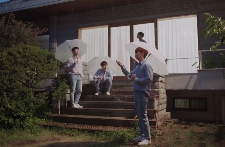 "[Actualizado] BTOB-BLUE revela primer vistazo del MV de ""When It Rains"" a través de teaser"