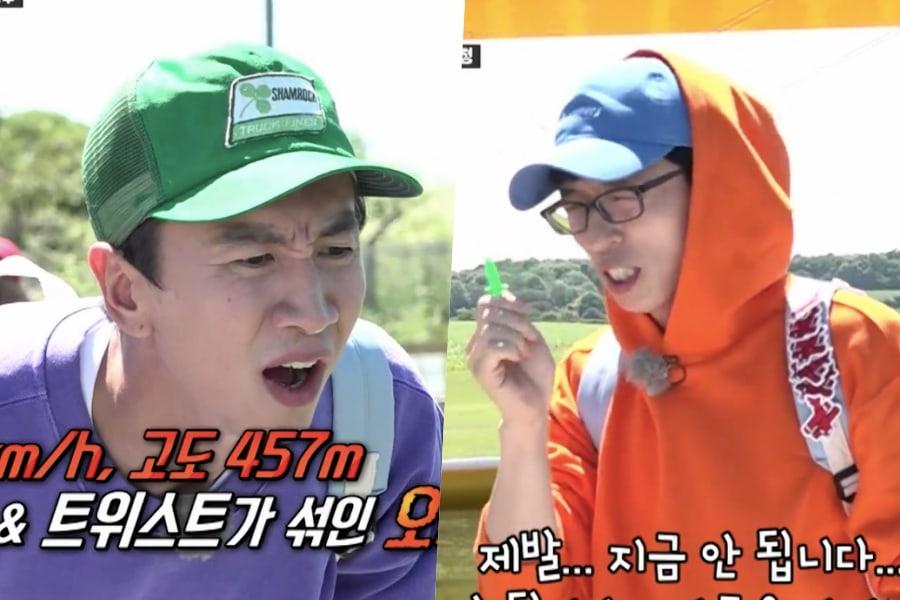 """Lee Kwang Soo y Yoo Jae Suk demuestran sus estatus como """"iconos de la mala suerte"""" en """"Running Man"""""""