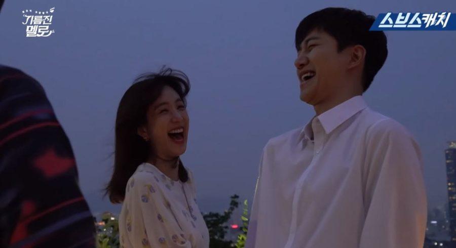 """Junho y Jung Ryeo Won aparecen relajados y serios para la escena de beso de """"Wok Of Love"""""""