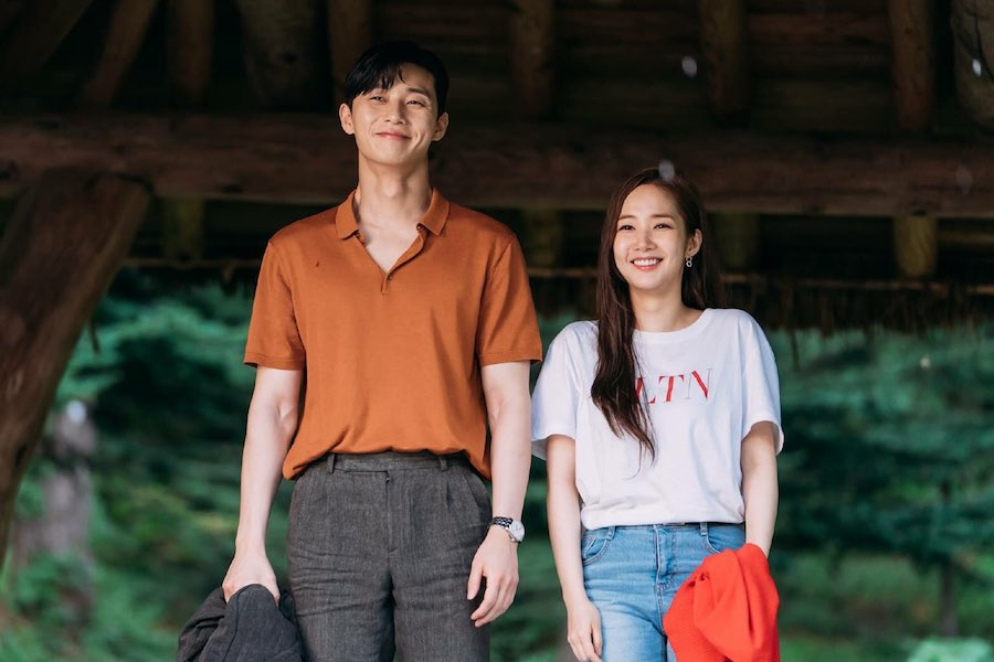 "Park Seo Joon y Park Min Young son una pareja perfecta para ""What's Wrong With Secretary Kim"""