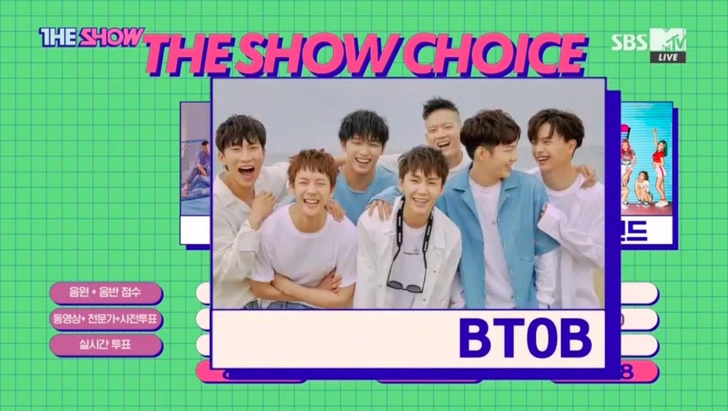 """BTOB obtiene segunda victoria para """"Only One For Me"""" en """"The Show"""" – Presentaciones de Apink, A.C.E y más"""