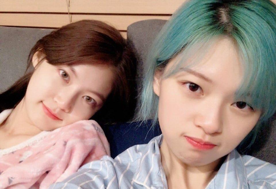 Gong Seung Yeon adorablemente muestra apoyo por su hermana menor Jeongyeon y el regreso de TWICE