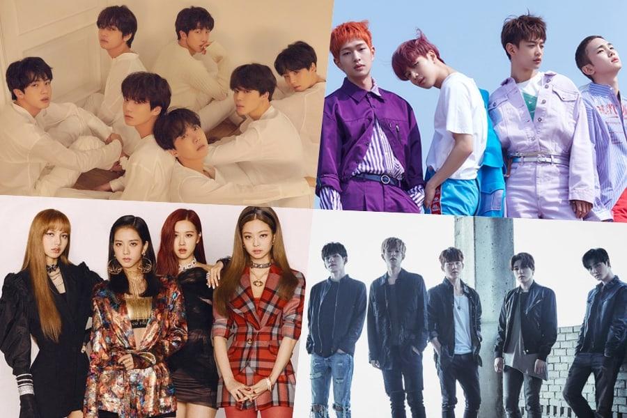 BTS, SHINee, BLACKPINK, DAY6 y NU'EST W toman puestos en el Top 10 de la lista de álbumes mundiales de Billboard