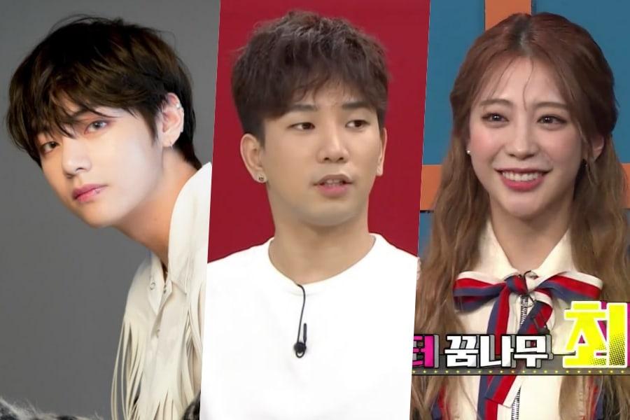 G.O dice que entiende por qué su novia Choi Ye Seul es una gran fan de V de BTS