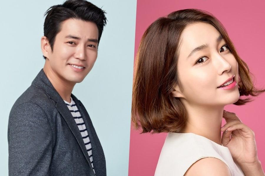 Joo Sang Wook y Lee Min Jung se reunirán por primera vez en 4 años en nuevo drama