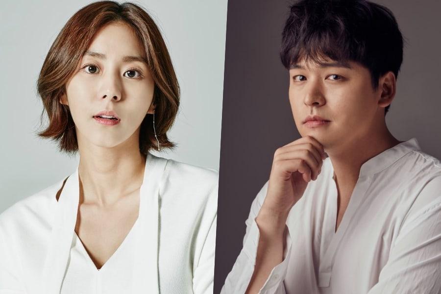 """Uee y Lee Jang Woo podrían reunirse en un drama 5 años después de ser MCs de """"Music Bank"""""""