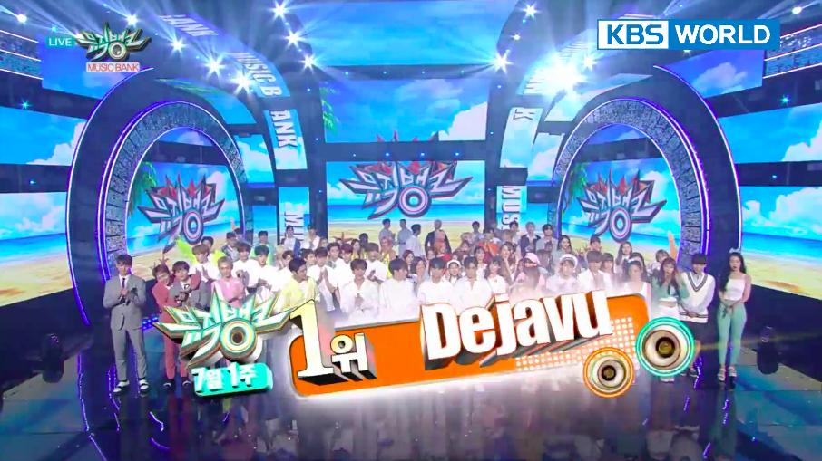 """NU'EST W logra su 1ª victoria por """"Dejavu"""" en """"Music Bank"""". Actuaciones de SHINee, Apink y más"""