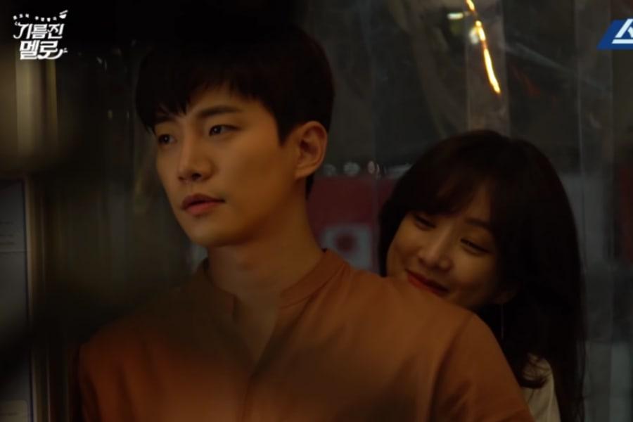 """Junho de 2PM y Jung Ryeo Won son todo risas durante los descansos de """"Wok Of Love"""""""