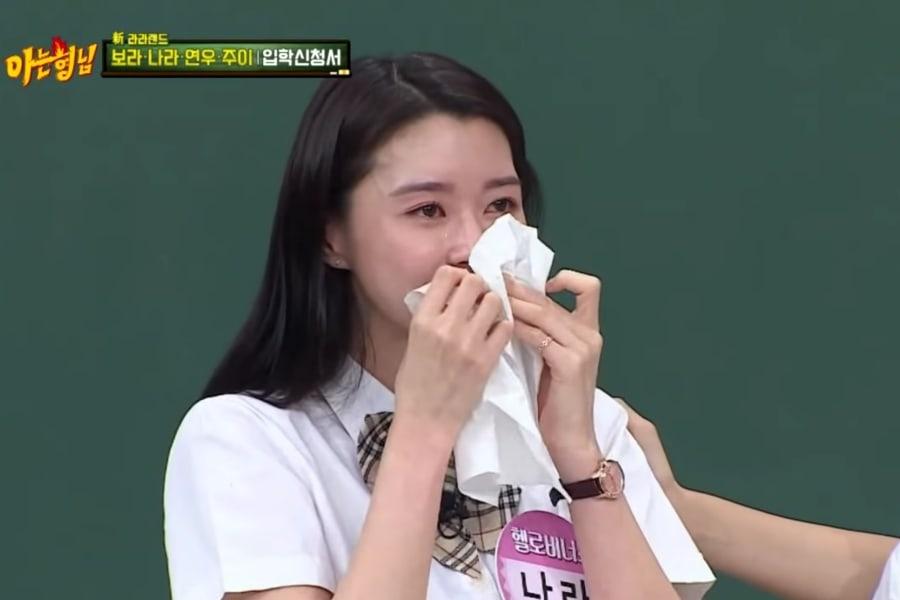 Nara de Hello Venus llora mientras habla de sus compañeras y las promociones completas del grupo