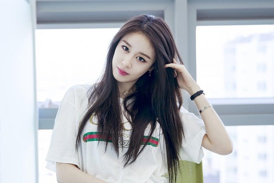 Jiyeon de T-ara comparte sus hermosos colores oficiales
