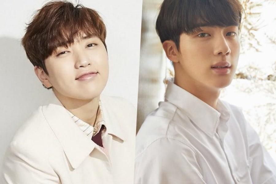 Sandeul de B1A4 habla sobre cómo Jin de BTS lo sorprendió la segunda vez que se encontraron