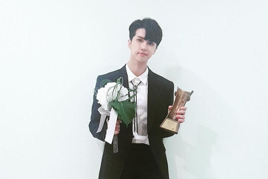 Ken de VIXX honrado con el premio de novato como actor musical