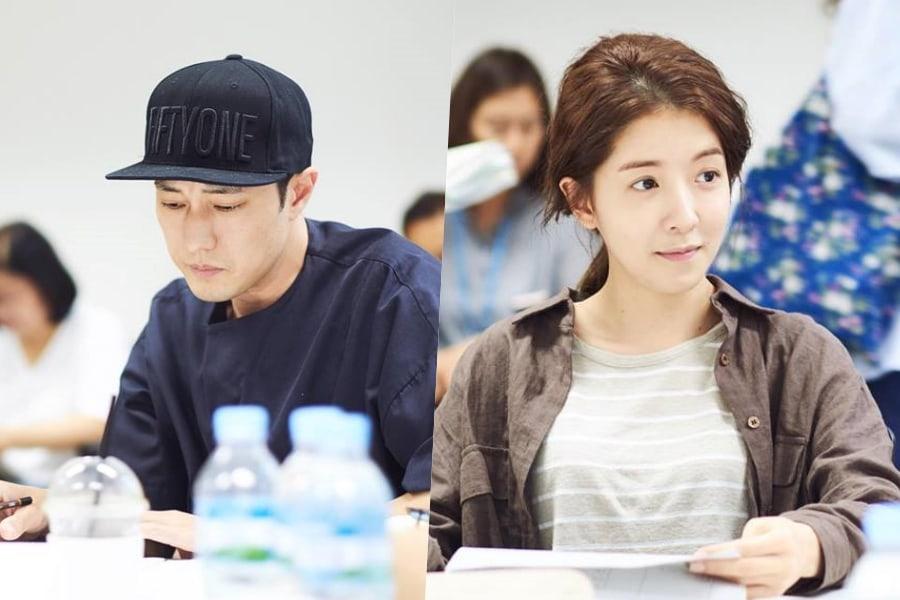 El próximo drama de So Ji Sub y Jung In Sun lleva a cabo su primera lectura de guión