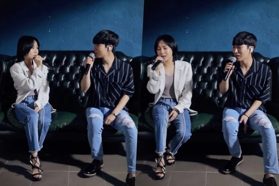 """Eunkwang de BTOB y Kim Bo Kyung forman equipo para el conmovedor dueto """"Just Once"""""""