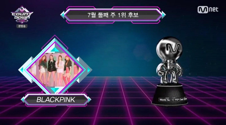 """BLACKPINK obtiene décima victoria parar """"DDU-DU DDU-DU"""" en """"M!Countdown"""" – Presentaciones de Sunmi, Wanna One y más"""