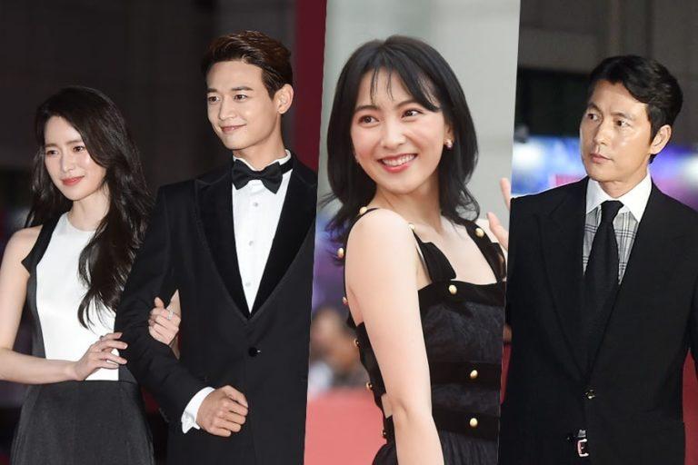 Las estrellas adornan la alfombra roja de la ceremonia de apertura del festival 2018 BIFAN