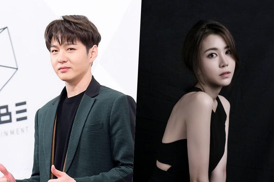 Cube niega los rumores de citas de Changsub de BTOB y la actriz musical Jung Jae Eun