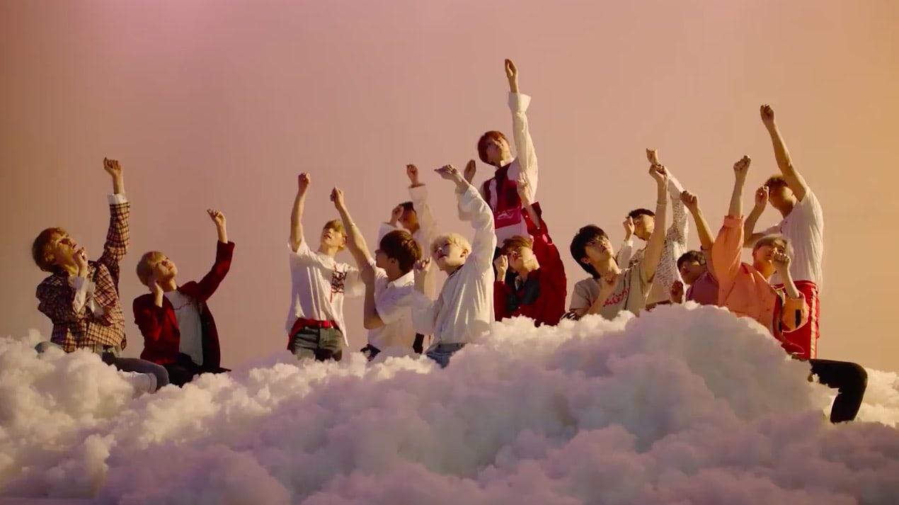 """[Actualizado] SEVENTEEN explora las nubes en un nuevo teaser de """"Oh My!"""""""