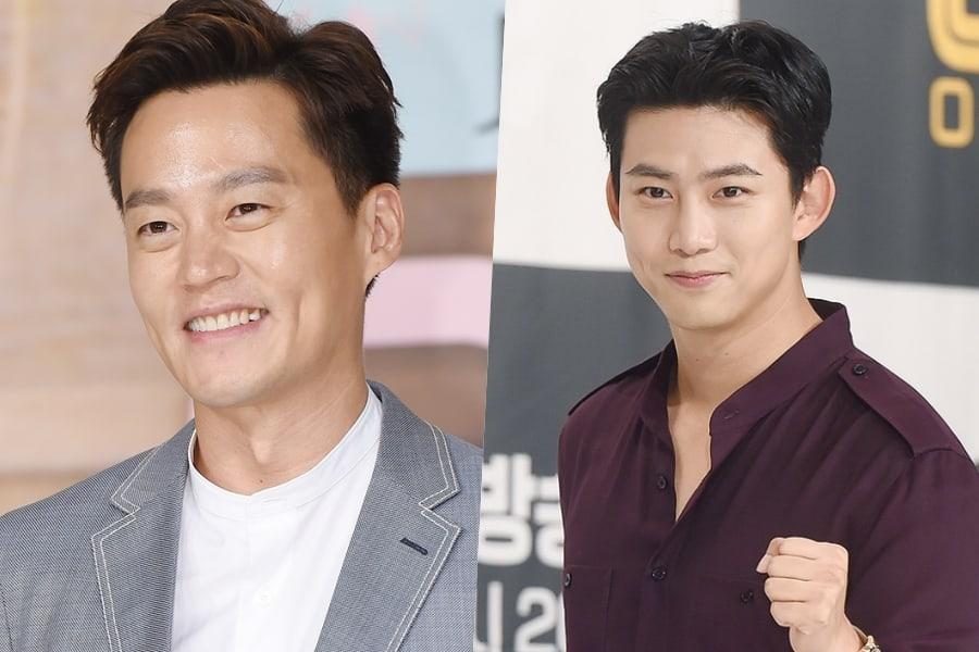 "Lee Seo Jin dice que quiere tomar a Taecyeon de 2PM como portero de ""Grandpas Over Flowers"""
