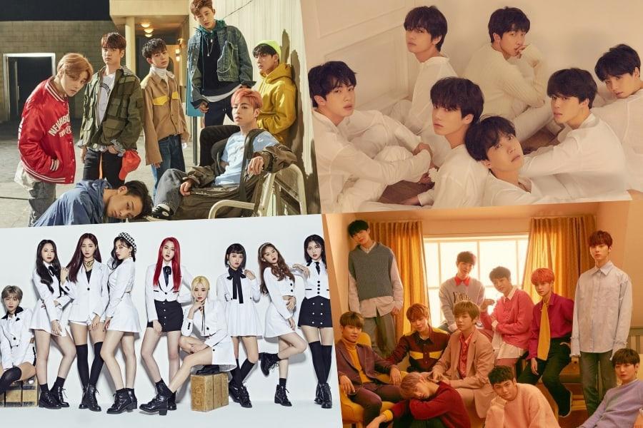 Gaon revela las listas digitales y de álbumes acumuladas para la 1ª mitad de 2018