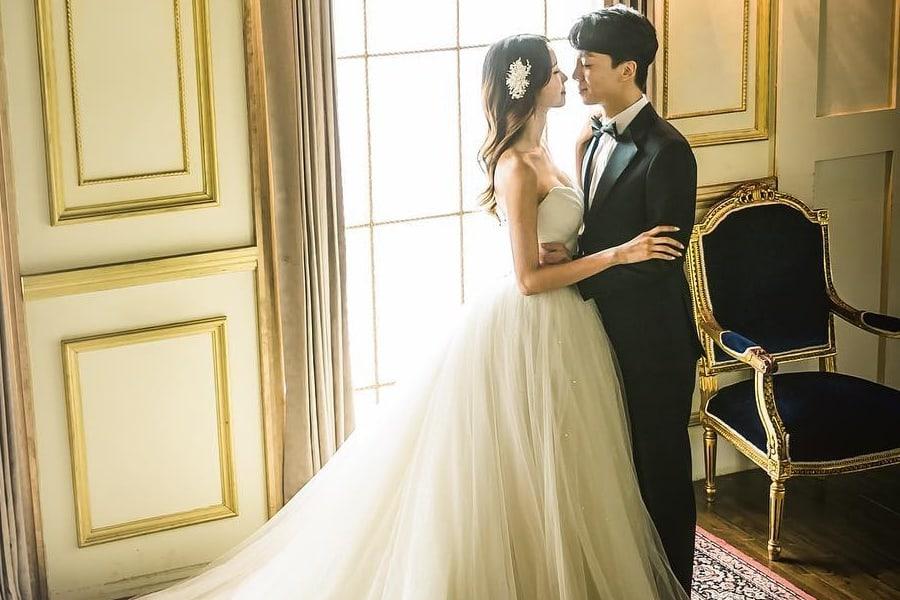 Ex-integrante de Rania, Yumin, comparte lindas fotos antes de su matrimonio con el ex-integrante de ToppDogg, P-Goon