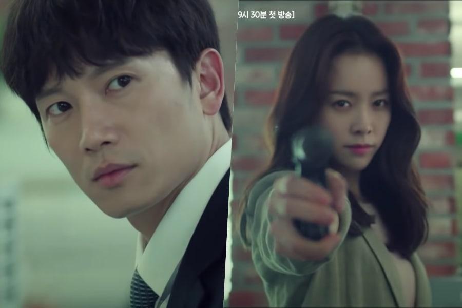 "Ji Sung y Han Ji Min tienen una divertida dinámica en teasers de ""Familiar Wife"""