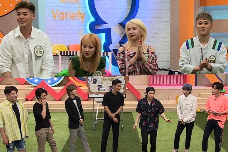 KARD nombra a los miembros de Super Junior con quienes quisieran ser amigos