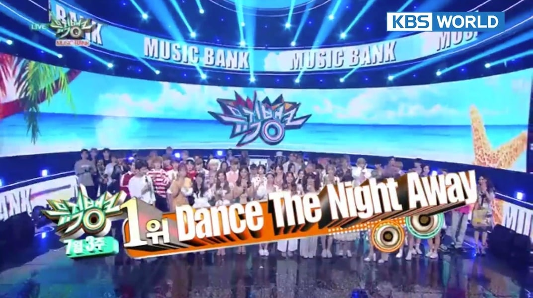 "TWICE se hace con su 3ª victoria por ""Dance The Night Away"" en ""Music Bank"". Actuaciones de GFRIEND, MAMAMOO y más"
