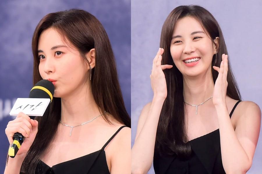 """Seohyun explica por qué usa poco maquillaje en el próximo drama """"Time"""""""