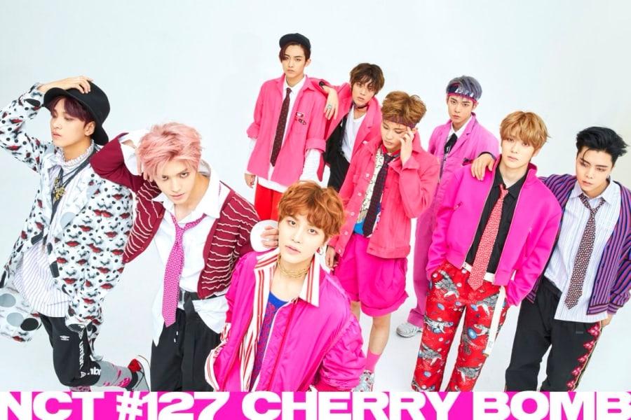 """NCT 127 demuestra 4 movimientos de baile clave para """"Cherry Bomb"""" y hablan en inglés"""