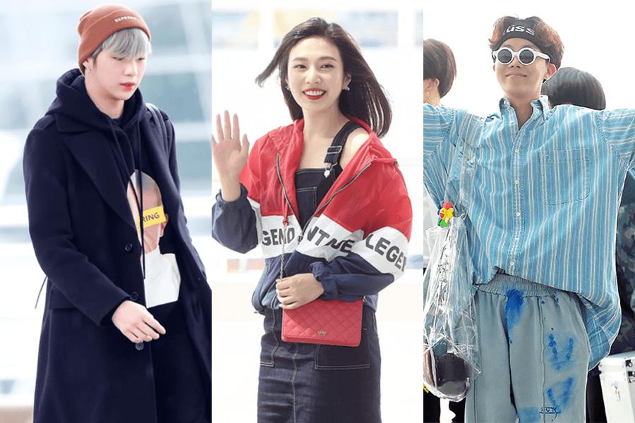10 muestras de moda K-Pop de aeropuerto del 2018 que adoramos