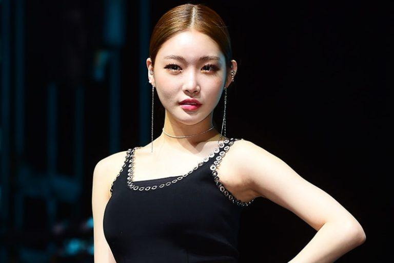 """Chungha habla sobre llegar a lo más alto de las listas en tiempo real y de su promesa de primera victoria para """"Love U"""""""