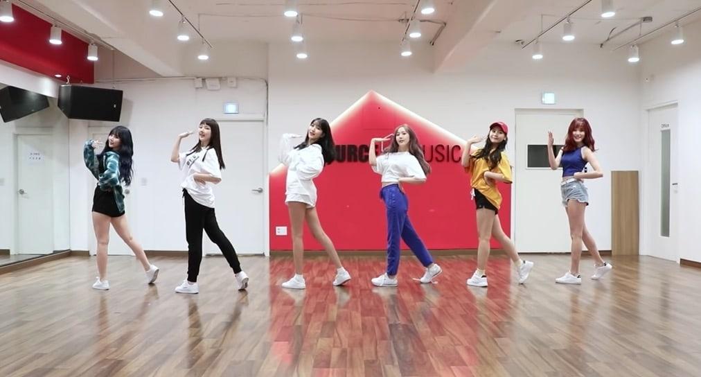"""Las integrantes de GFRIEND son alegres y energéticas en video de práctica para """"Sunny Summer"""""""