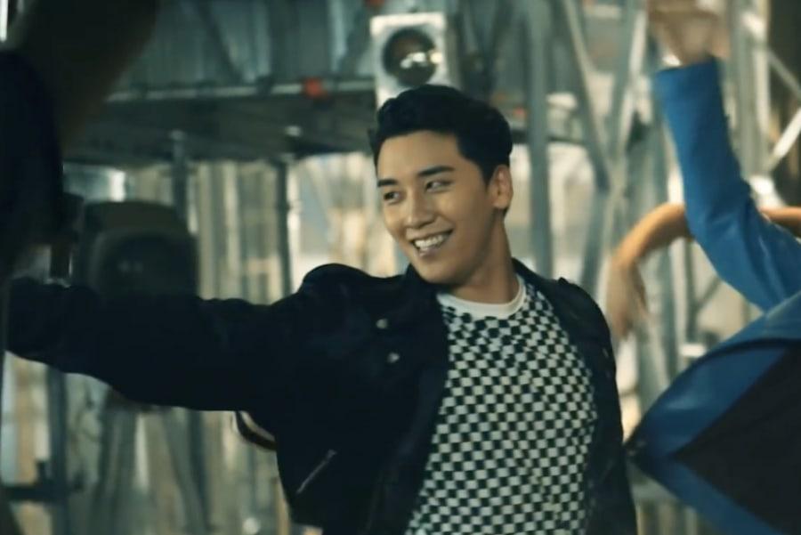 """Seungri de BIGBANG se estresa en el detrás de cámaras del video musical """"1,2,3!"""""""